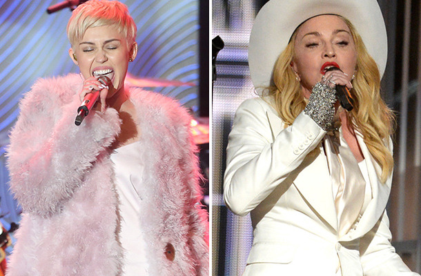 """Miley Cyrus To Perform With Madonna on MTV's """"Unplugged"""" Special!"""