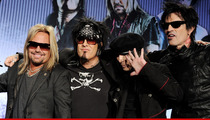 Motley Crue Retiring -- We're Done!!!