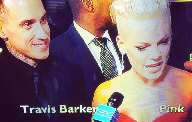 "P!nk Calls Out ""Ellen"" for Mistaking Her Husband for Travis Barker!"