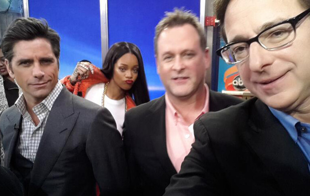 "Rihanna Photobombs ""Full House"" Guys, Shares New Collaboration!"