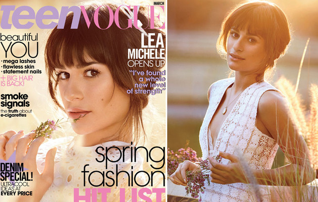 "Lea Michele Talks ""Insane Love"" With Cory Monteith!"