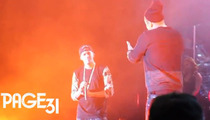 Jay Z Goes OFF THE CHAIN at J. Cole's Birthday Concert -- Those Diamonds Are Yours Now