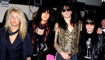 Motley Crue -- Hanging it Up, 'Cause ... We're Dying to Retire