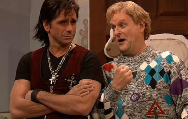 """The """"Full House"""" Men Had an Epic Reunion with Jimmy Fallon"""