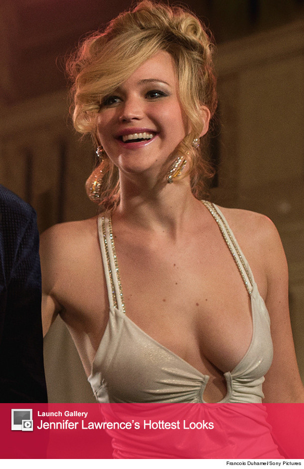 jennifer lawrence nearly ruined american hustle gown with