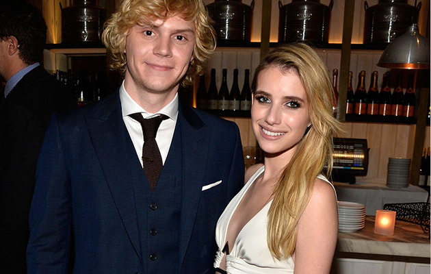 Emma Roberts Reveals How She Started Dating Fiance Evan Peters