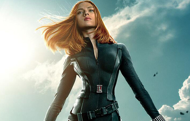 "Fans Cry Photoshop on Scarlett Johansson's New ""Captain America"" Poster"