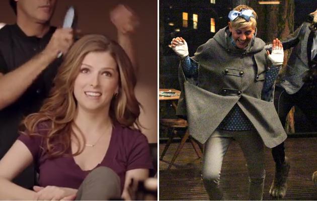 Check Out Anna Kendrick & Ellen DeGeneres' Super Bowl Commercials!