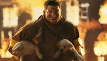 Tim Tebow Saves Puppies From Burning Building in Super Bowl Ad!