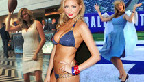 Kate Upton -- Debuts New Super Bowl Dance ... So Let's Fight About It