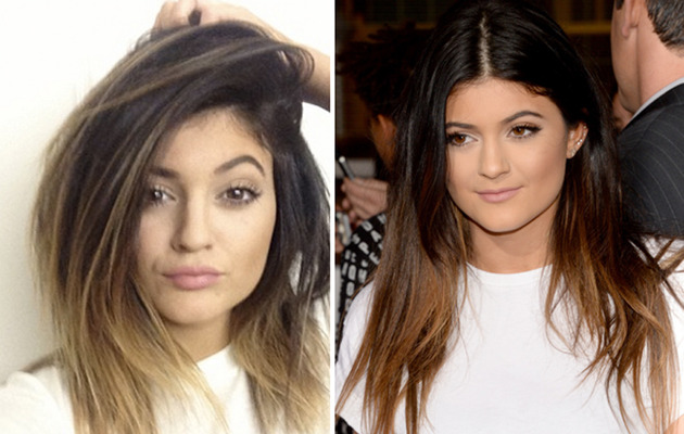 Kylie Jenner Shows Off Blonde New 'Do!