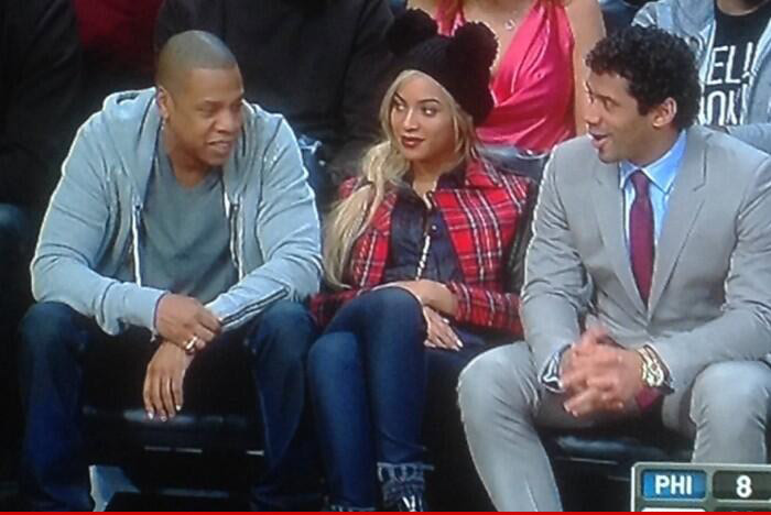 Russell Wilson -- Winners Hang Out with Jay Z and Beyonce