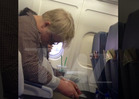 Philip Seymour Hoffman -- Nods Off On Plane Af