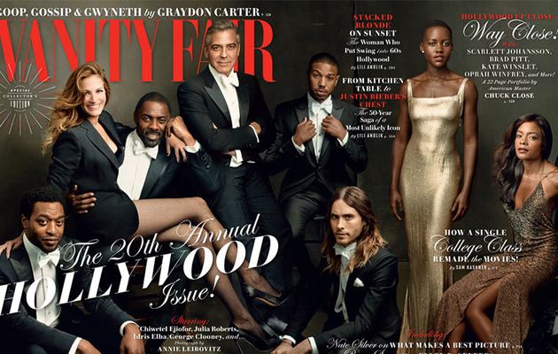Vanity Fair's 2014 Hollywood Issue Cover Showcases This Year's Biggest Stars!