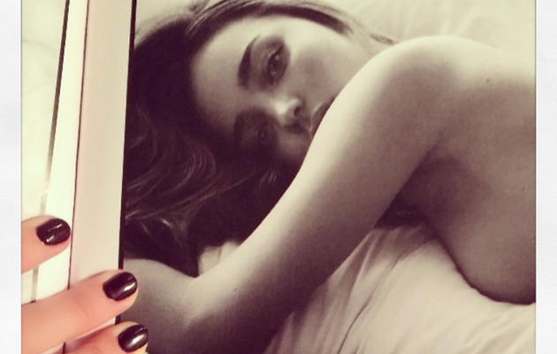 Miranda Kerr Shares Sexy Topless Photo from W Magazine Shoot