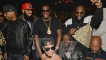 Justin Bieber Parties in Atlanta -- Hey Diddy, Check Out My Pecs