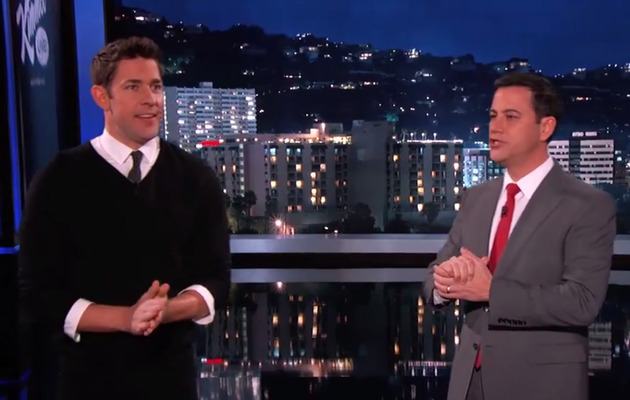 John Krasinski & Jimmy Kimmel Give Away $1.5 Million for Esurance!