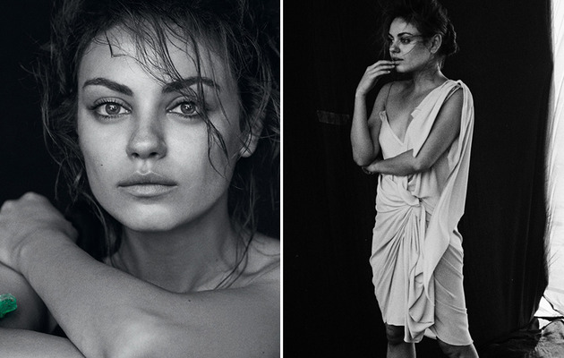 Mila Kunis Goes Makeup-Free in New Gemfields Campaign!