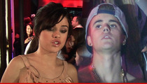 Justin Bieber -- Selena Gomez is Not Lovesick ... She's a Drunk