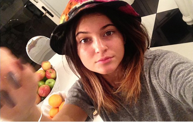 Kylie Jenner Goes Makeup-Free in New Instagram Snap!