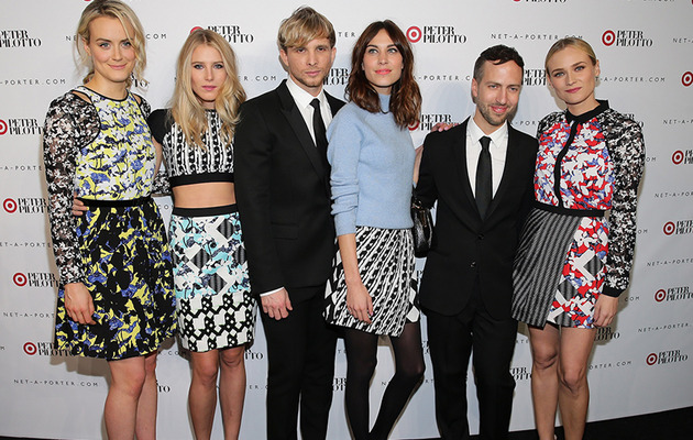 Taylor Schilling & Diane Kruger Stun at Peter Pilotto for Target Launch Party