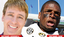 Michael Sam -- 'INSTANT HERO IN GAY COMMUNITY' ... Says Roger Goodell's Gay Brother