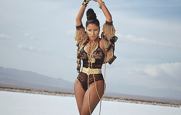 Nicki Minaj Shares Sexy Behind-The-Scenes Photos From New Shoot