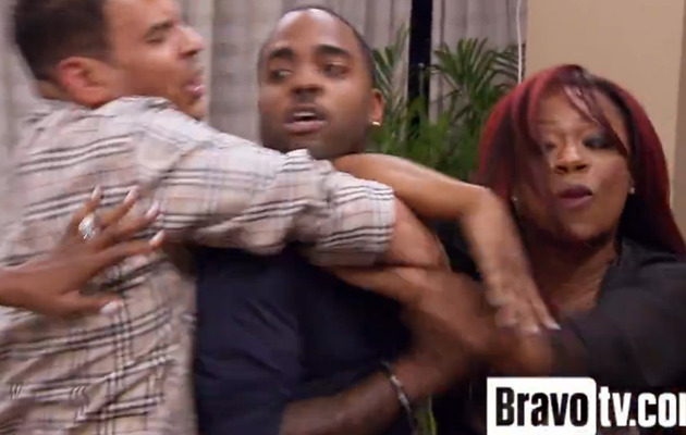 """Real Housewives of Atlanta"" Pajama Brawl Part 2: Kandi Goes Nuts!"