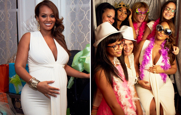 "See Photos from Inside ""Basketball Wives"" Star Evelyn Lozada Baby Shower"