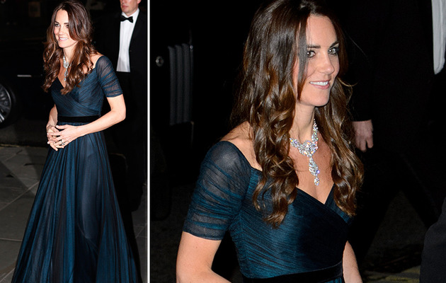 Kate Middleton Dazzles in Diamonds at National Portrait Gallery Gala