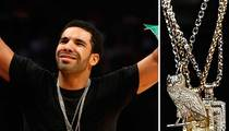 Drake to Jeweler:  I Didn't Rip You Off ... You Ripped Off King Tut