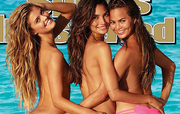 Sports Illustrated Swimsuit Cover Revealed -- 3 Butts Are Better Than One!