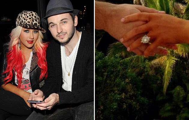 Christina Aguilera's Engagement Ring -- How Does It Compare to Her Old One?