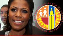 Omarosa -- I'm Running for School Board ... And I'm Gonna Win!