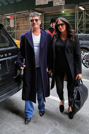 Simon Cowell and Lauren Silverman -- The Happy Couple!