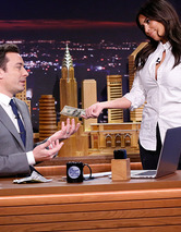 "Kim Kardashian, Lindsay Lohan Appear on Jimmy Fallon's ""Tonight Show"" Debut"