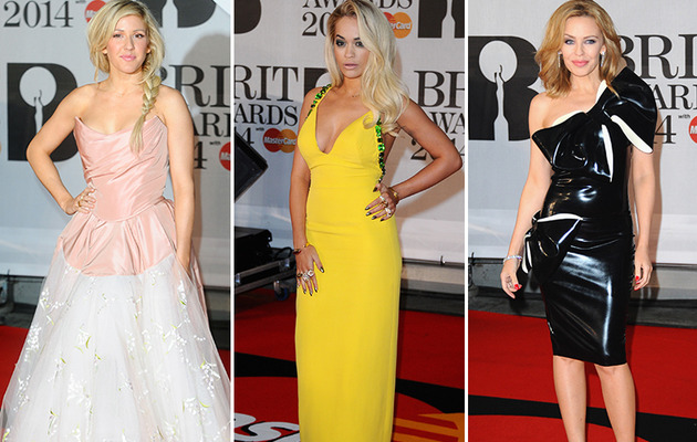 2014 BRIT Awards Brings Out Some Crazy Couture!