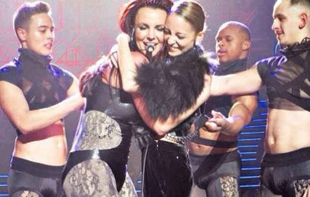 Britney Spears Dominates Nicole Richie, Has Lip-Sync Fail