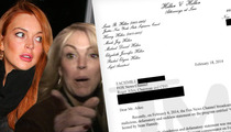Lindsay Lohan -- I Did NOT Do Coke With My Mom!