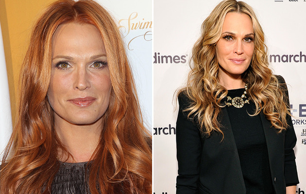 Molly Sims Goes Red -- See Her Shocking New Look!