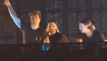 Swedish House Mafia -- Stagehand Sues to Get the LED Out