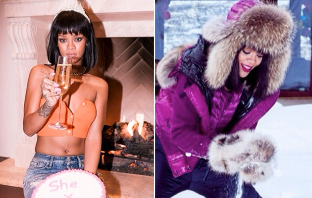See Inside Rihanna's 26th Birthday Celebration!
