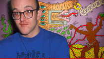 Pop Artist Keith Haring -- Art Dealers SUE for $40 Million ... We Don't Sell Fakes!!!