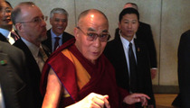 The Dalai Lama -- HOLY INTERNAL CONFLICT ... Should I Bless TMZ???