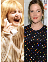 Drew Barrymore Turns 39 -- See More Scream Queens Then & Now!