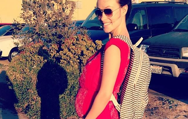 Olivia Wilde Shows Off Big Baby Bump -- Only 9 Weeks to Go