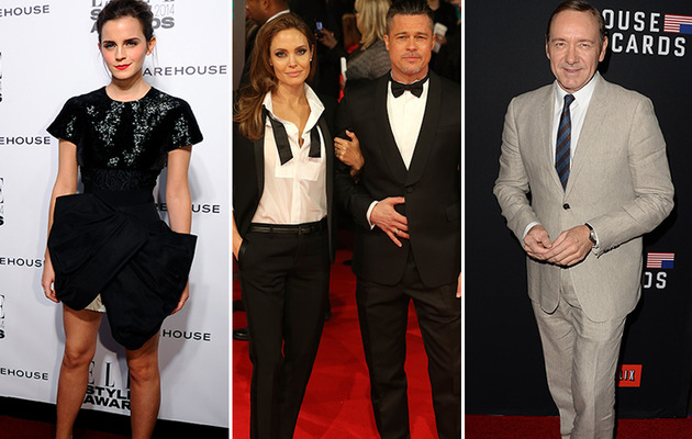 Angelina Jolie & Brad Pitt to Present At This Year's Oscars -- See Who Else!