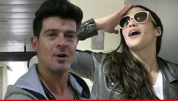 After 9 Years Of Marriage, Robin Thicke and  Paula Patton Part Ways