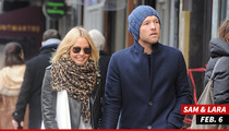 Sam Worthington -- Pap Insists Sam's GF Attacked First