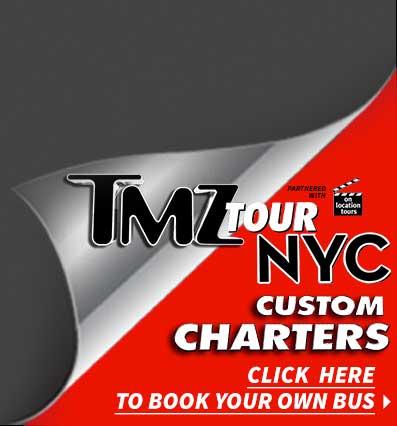 Tmz new york city bus tour see the nyc you never knew for Tmz tour new york city